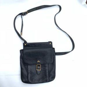 Fossil leather black crossbody Bag 75082